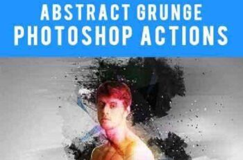 1702045 Abstract Grunge Photoshop actions 16410563 5