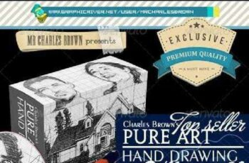 1702060 All Charles Brown's Pure Art Hand Drawing Bundle 4 6793148 4