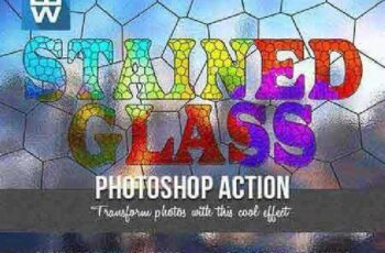 1702069 Stained Glass Photoshop Action 16265162 6