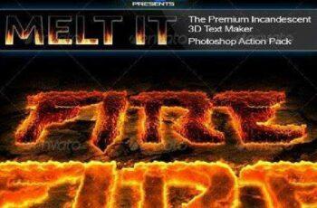 1702075 Melt It The Premium Incandescent 3D Text Maker 162005 5