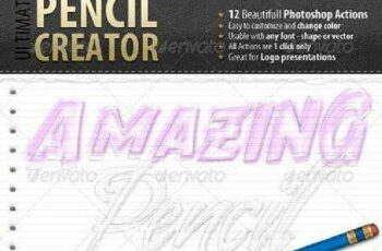 1702078 Pencil Creator Photoshop Actions 2518843 7
