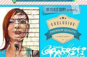 1702087 Creative Graffiti Street Art Vol. 4 6390542