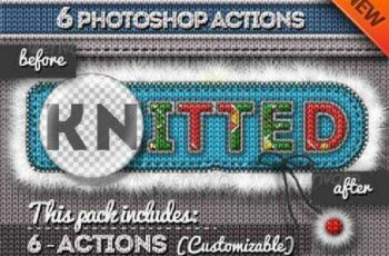 1702092 Fur and Knitted Fabric Photoshop Actions 6271031 7