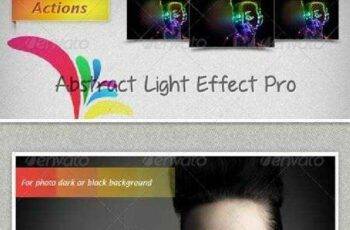 1702096 Abstract Light Effect Pro Actions 6341041 6