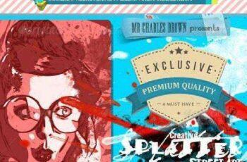 1702099 Creative Splatter Street Art 6254002 4