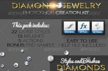 Diamond Gold Silver and Pearls Jewelry Creator 7141547 4