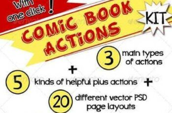 1702146 Comic Book Actions Kit 7240822 4