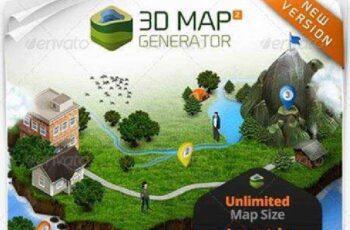 1702154 3D Map Generator 2 - Isometric 7667950 6