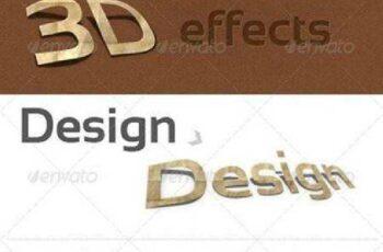 1702165 3D Photoshop Action v.1 (paper effect) 141657 5