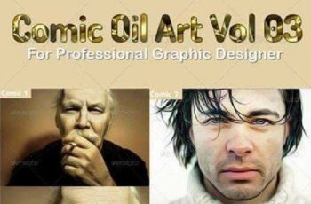 1702182 Comic Oil Art Vol 03 8252292 3