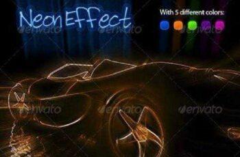 1702191 Neon Effect Photoshop Action 513060 2