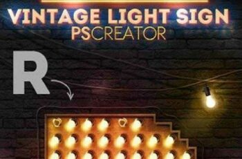 1702227 Vintage Light Bulb Sign Photoshop Creator 8937839 3