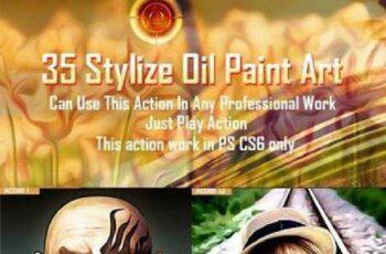 1702240 35 Stylize Oil Paint Art 8857576 2