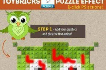 1702275 Lego Toy Bricks Puzzle Photoshop Actions 9337194
