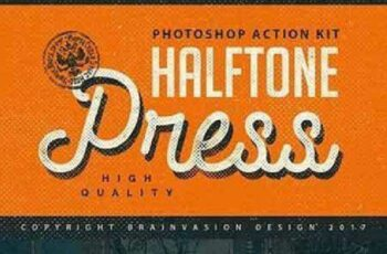 1702302 Halftone Press - Photoshop Kit 1167588 3