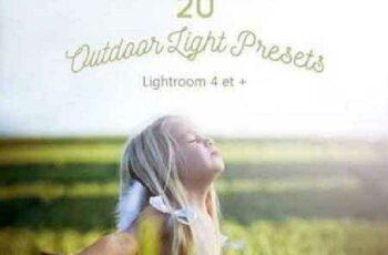 1702306 Pack 20 LR Presets Outdoor Light 1167974 7