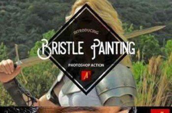 1702316 Bristle Painting Photoshop Action 871604 7