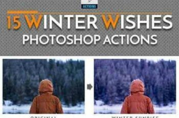 1702340 15 Winter Wishes Photoshop Actions 19193002 4