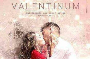 1702342 Valentinum - Sweethearts Photoshop Action 19343086 2