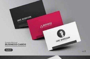 1702363 Clean & Minimal Business Card 893485 3