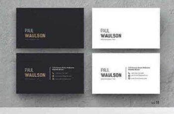 1702364 Clean Business Card 984347 5