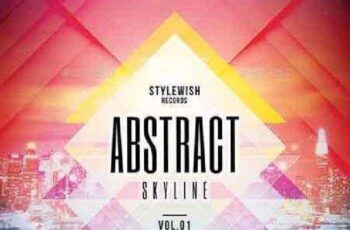1702367 Abstract Skyline CD Cover Artwork 17257701
