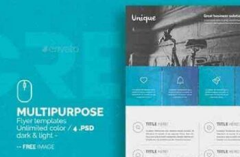 1702374 Multipurpose Business Flyer Templates 13671347 2