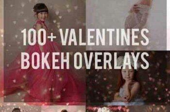 1702378 Bundle 100+ Valentine Bokeh Overlays 1174557