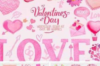 1702392 Valentine Day Design Kit 1188506 4