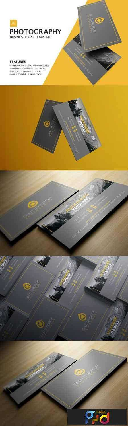 1702393 photography business card 1161905 free psd download