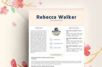 1702402 Creative Feminime Resume Template 1154401 6