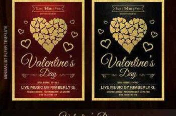1702405 Valentine's Day Flyer Template 1153469 6