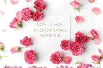 1702414 20 Floral frames bundle 1128659 8