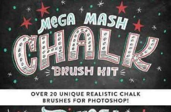1702436 Mega Mash Chalk Brush Kit 1146691 3