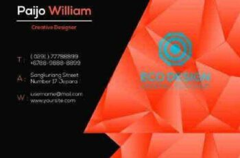 1702451 Hitam Orange Business Card 1144761 4
