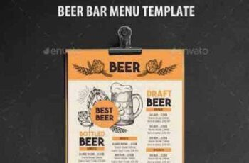 1702457 Alcohol Menu Template 16961093 5