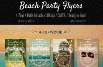 1702458 Beach Party Flyers 12162433 8
