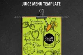 1702463 Juice Bar Menu Template 16963365 2