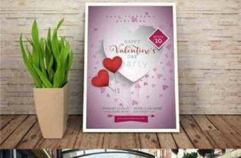 1702471 Valentines Day Flyer #01 4