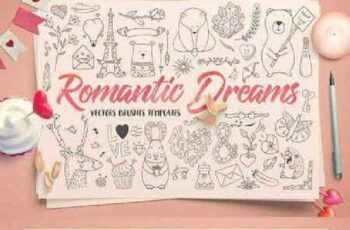 1702485 Romantic Dreams Graphic Pack 1142785 4