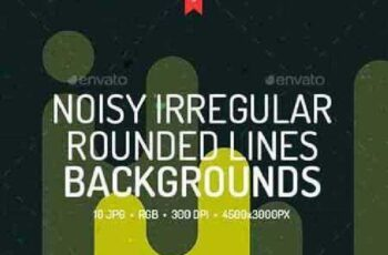 1702513 Noisy Rounded Lines Backgrounds 18910726 4