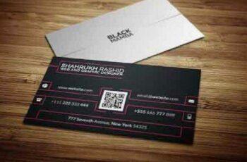 1702523 Black Mamba Corporate Business Card 1136282