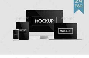 1702526 Multi Devices Responsive Website Mockup Vol. 2 19260536 6