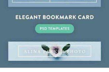 1702529 Elegant bookmark card 1212851 3