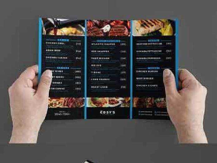 1702532 trifold restaurant menu template freepsdvn. Black Bedroom Furniture Sets. Home Design Ideas