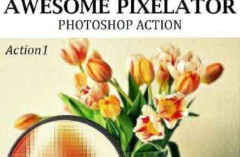 1702538 Awesome Pixelator Photoshop Action 19194726 6