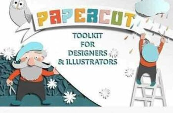 1702559 Papercut Toolkit for Photoshop 1201370 3
