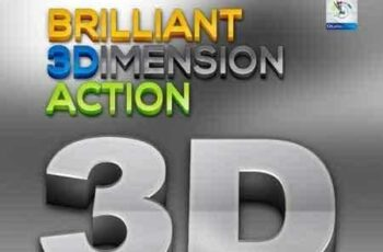 1703008 Brilliant 3D Action 3527349 3