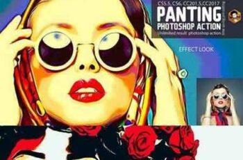 1703010 Panting Photoshop Action 1288991 4