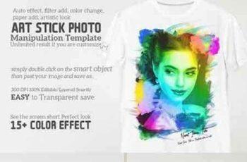 1703011 Art Stick Photo Template 1301112 5